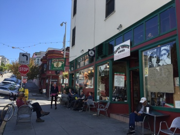 Cafe Trieste a North Beach staple with great coffee