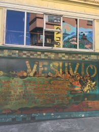 Vesuvio cafe in North Beach a regular haunt for the beat poets