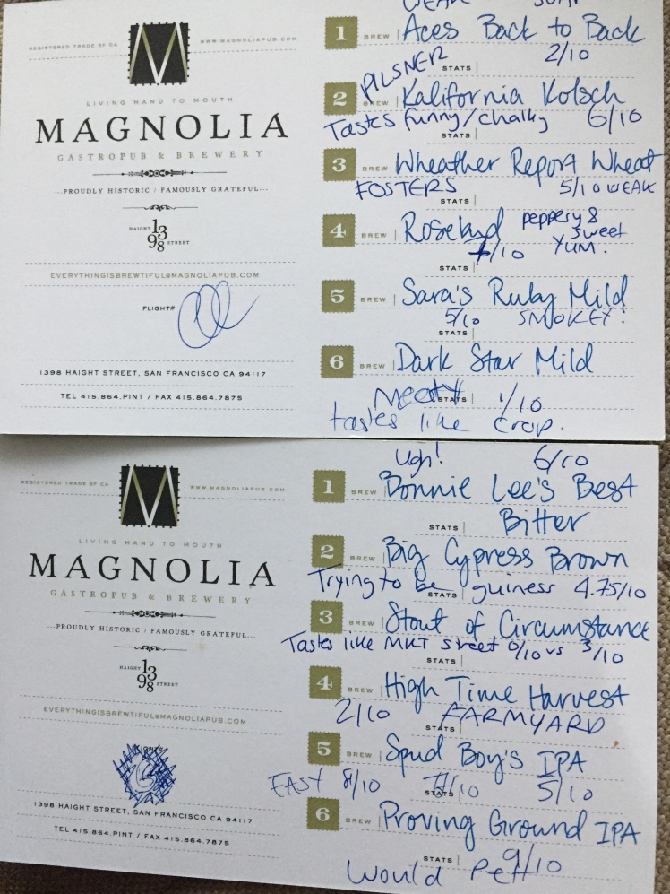 Magnolia tasting notes, Where to drink craft beer in San Francisco, Real Ale San Francisco, Craft beer in San Francisco, Visiting San Francisco, San Francisco Bars, San Francisco Blog, SF Blog, San Francisco Bloggers, San Francisco Blog, SF Foodies, San Francisco Foodies, California Travel, California Road Trip, What to do in San Francisco, Things to do in San Francisco,