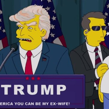 The Simpsons President Trump