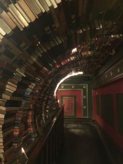 Book tunnel, The Last Bookstore, LA