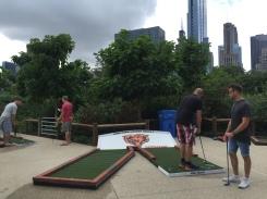 Mini golf in Chicago