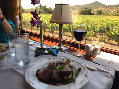 Lunch on the Napa Valley Wine Train