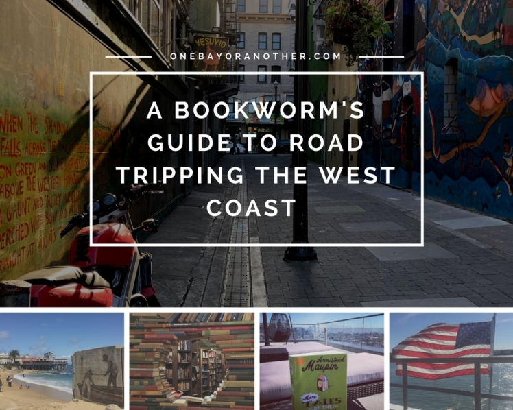 A guide to California for book lovers, bookworm's and literature lovers featuring Joh Steinbeck, Tales of the City, San Francisco, Monterey and Los Angeles
