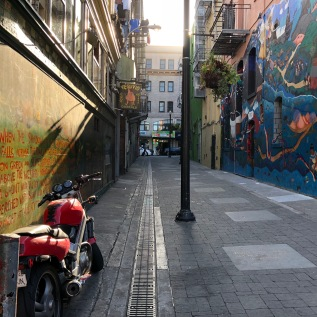 Vesuvio Cafe was the drinking hole for many of the beat poets and retains all of it's old school San Francisco charm