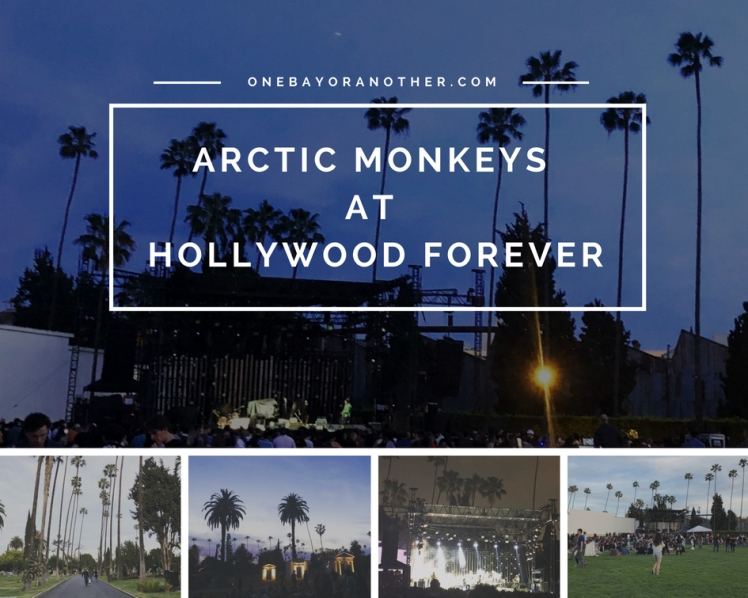 Arctic Monkeys at Hollywood Forever, Hollywood forever cemetery, LA music venues, LA live music, Los Angeles, Hollywood, USA music