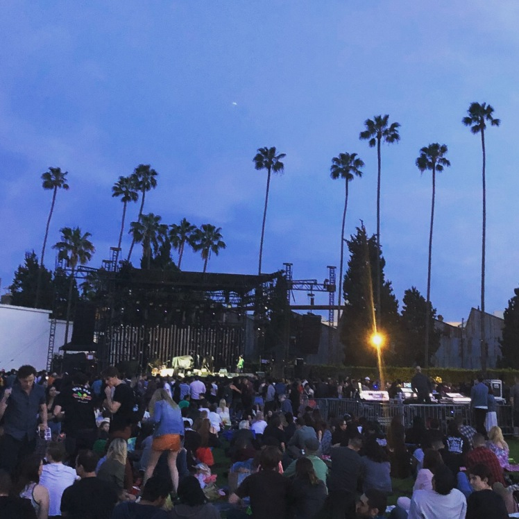 Arctic Monkeys at Hollywood Forever