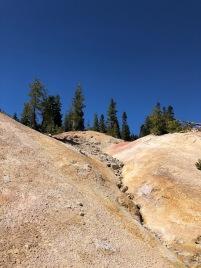 Hiking in Lassen Volcanic National Park